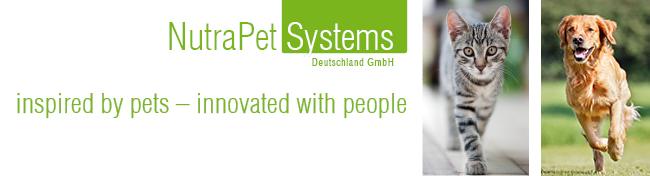 Nutrapet Systems Tiernahrung, Vormischungen, Nahrungsergänzung und Futtermittel für Hunde, Katzen und Nutztiere Logo