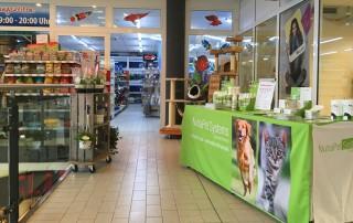 Promo-Zoo-Sickinger-Nutrapet vor Ort
