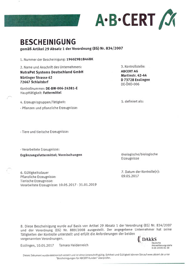 bio-zertifizierung