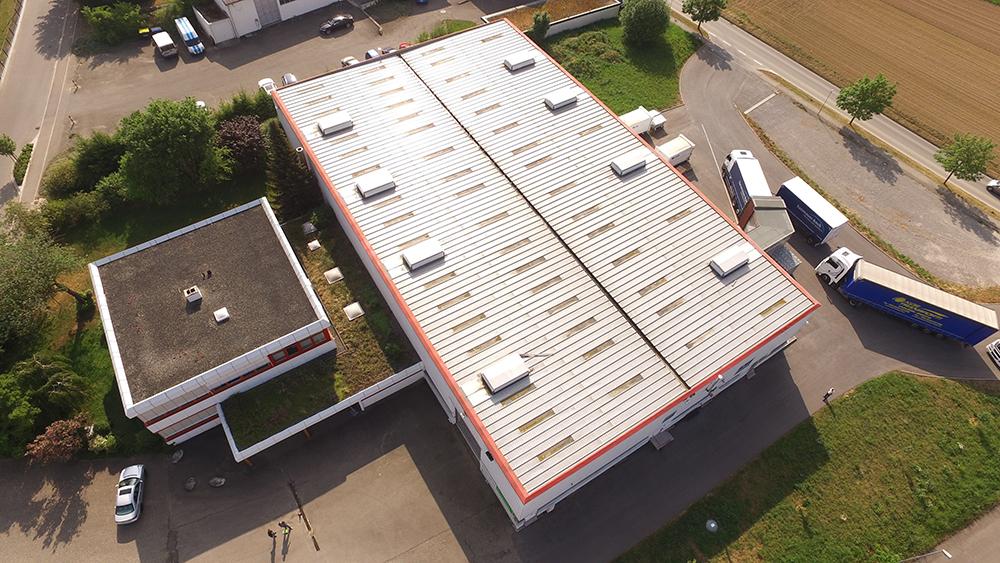 Luftaufnahme Unternehmen Nutrapet